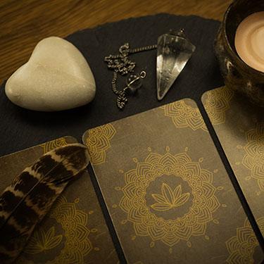 Carte oracle & pendule